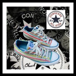 Converse All Star Knit Multi-Color Shoes